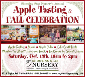 APPLE TASTING & FALL CELEBRATION @ Shooting Star Nursery  | Central Point | Oregon | United States